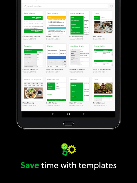 Android Evernote - stay organized. Screen 8