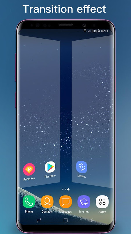 Android S7 Launcher -Galaxy S7 launche Screen 4