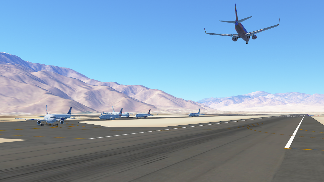 Android Infinite Flight Simulator Screen 2
