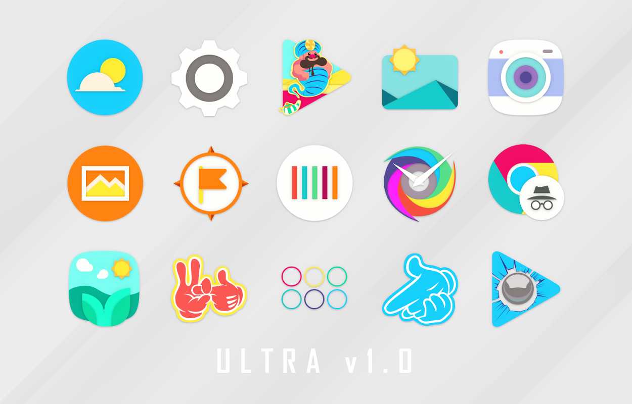 Android Ultra Icon Pack Screen 14