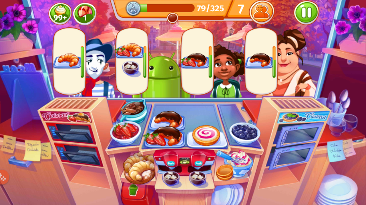 Android Cooking Craze: Crazy, Fast Restaurant Kitchen Game Screen 10