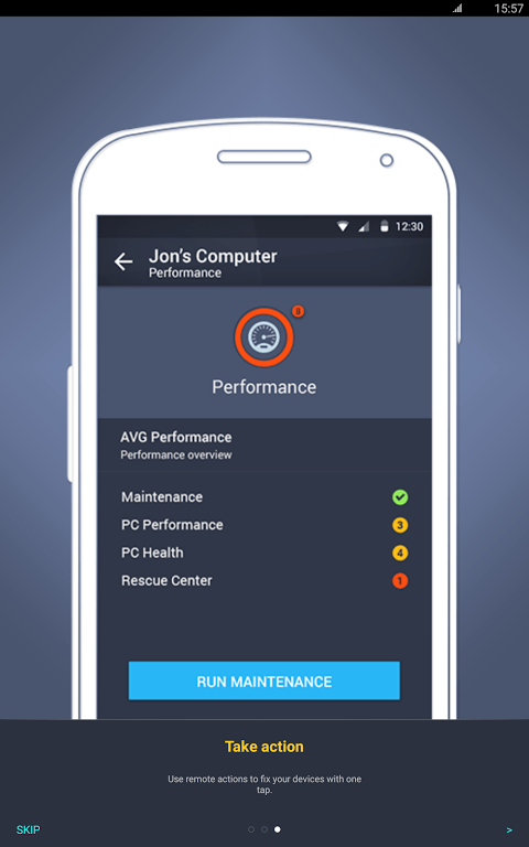 Android AVG?Zen Screen 10