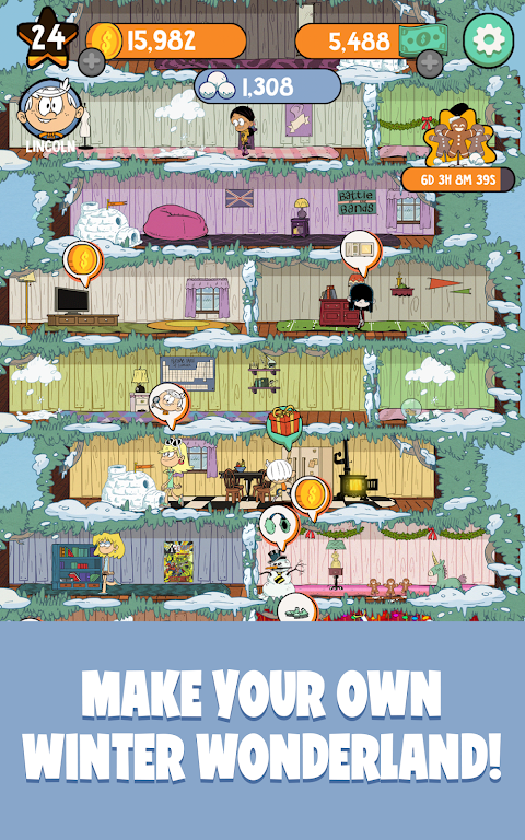 Loud House: Ultimate Treehouse 1.5.1 Screen 12