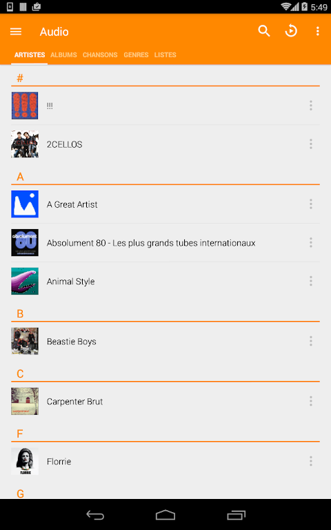VLC for Android 3.1.0-RC4 Screen 20