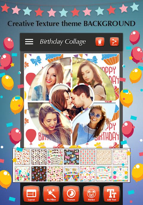 Happy Birthday Photo Collage 1.4 Screen 5