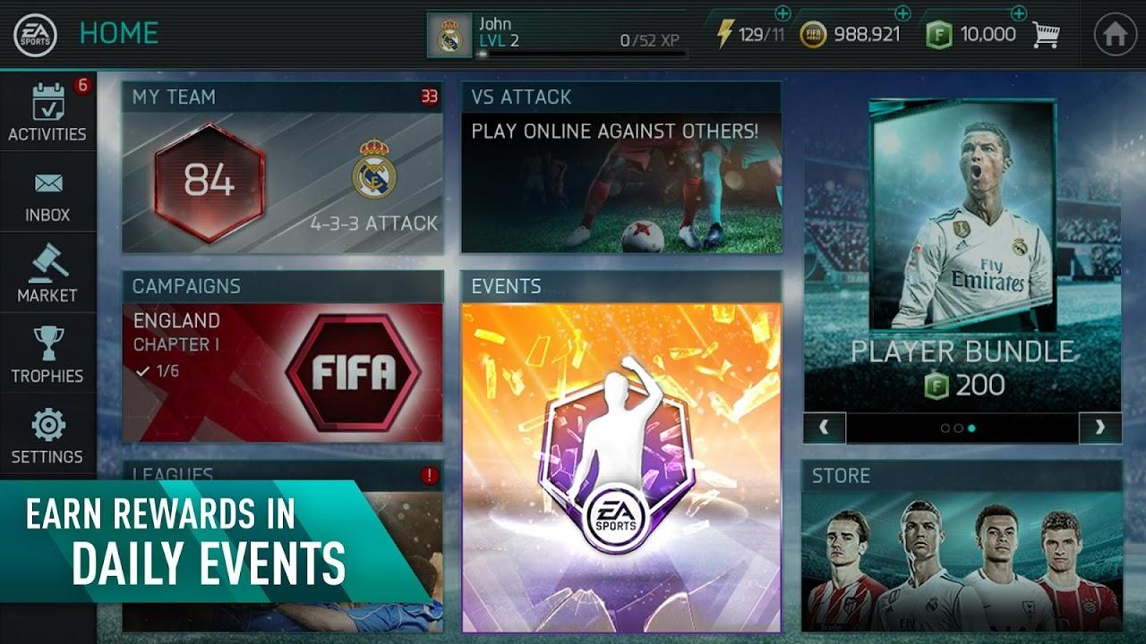 FIFA Mobile Football 12.0.01 Screen 5
