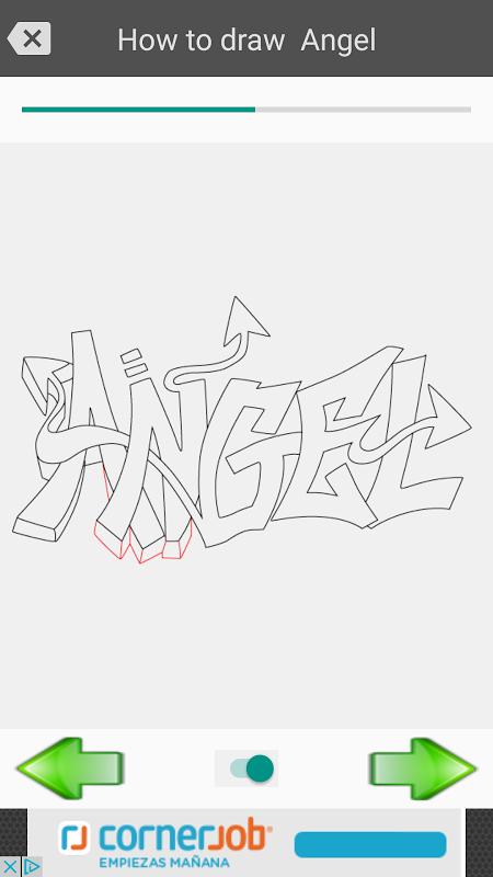 Android Draw graffiti 3D Screen 10