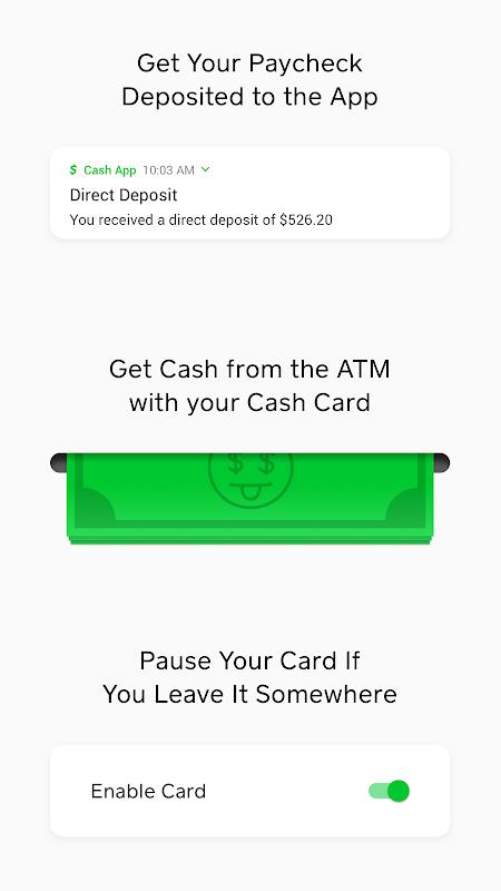 Cash App 2.42.1 Screen 1