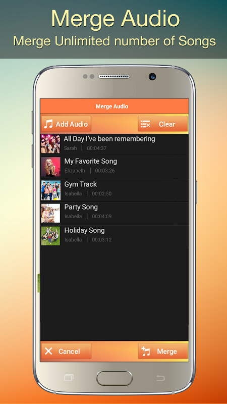 Audio MP3 Cutter Mix Converter and Ringtone Maker 1.81 Screen 3