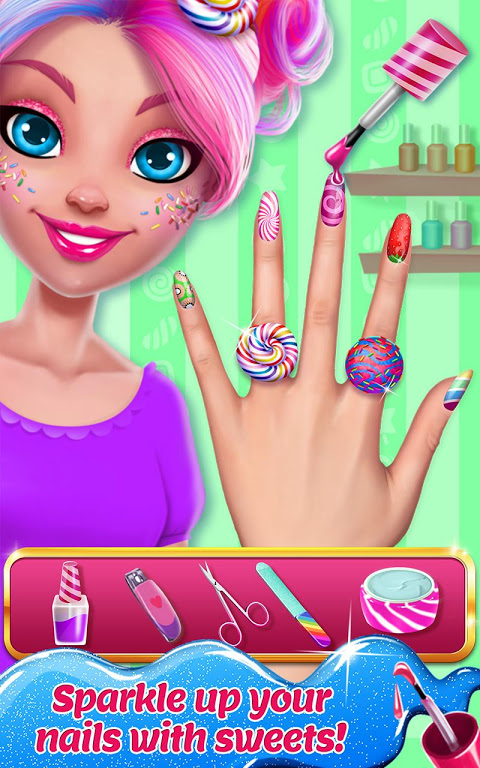 Android Candy Makeup - Sweet Salon Screen 2