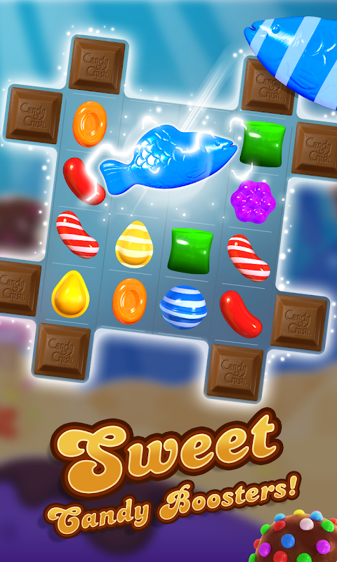 Android Candy Crush Saga Screen 4