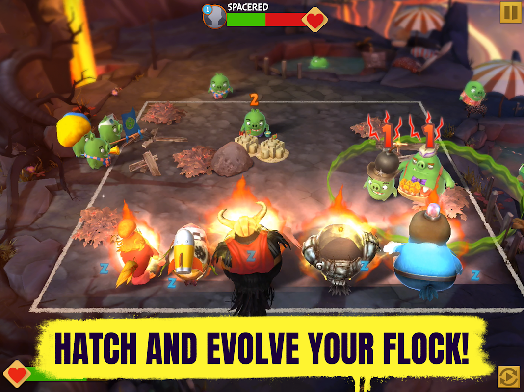 Android Angry Birds Evolution Screen 7