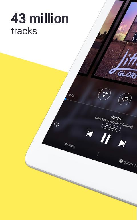 Deezer: Stream Music, Playlists, Albums & Songs 6.0.3.3 Screen 5