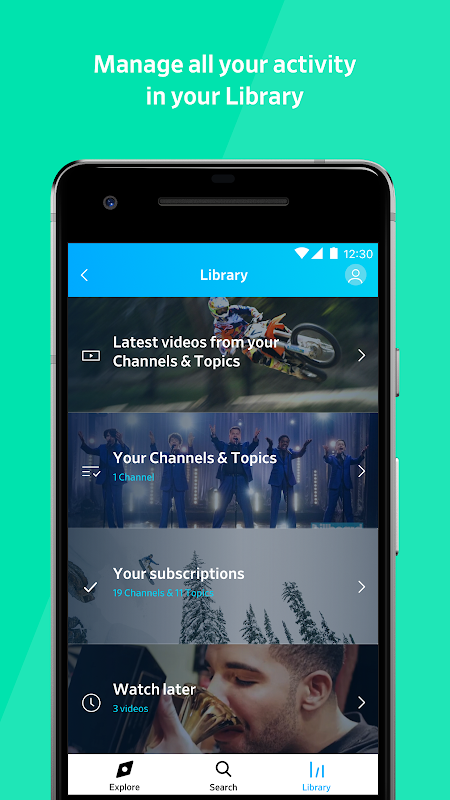 Dailymotion: Videos for now 1.31.29 Screen 5
