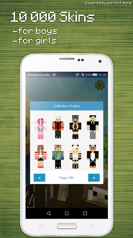 Android Skins Editor for Minecraft PE (3D) Screen 2