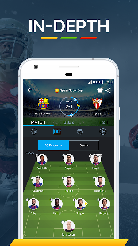 Android 365Scores - Live Score Screen 8
