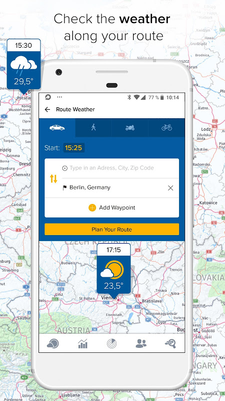 Morecast - Your Personal Weather Companion 4.0.7 Screen 5