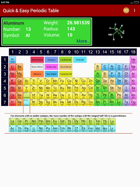 Periodic table of chemical elements chemistry app 12 apk download periodic table of chemical elements chemistry app 12 screen 12 urtaz Image collections