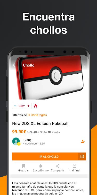 Android Chollometro – Chollos, Black Friday, ofertas Screen 7