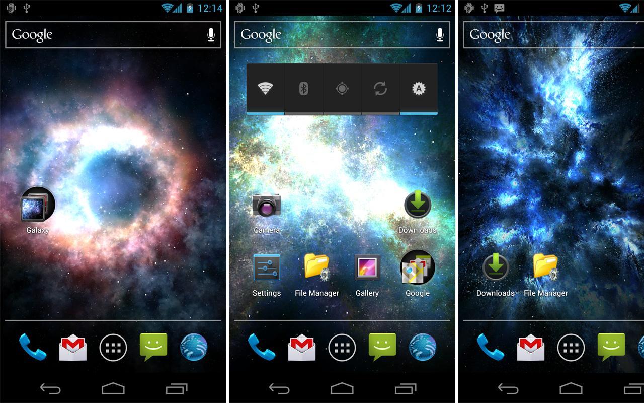 Galaxy Pack 1.9 Screen 1