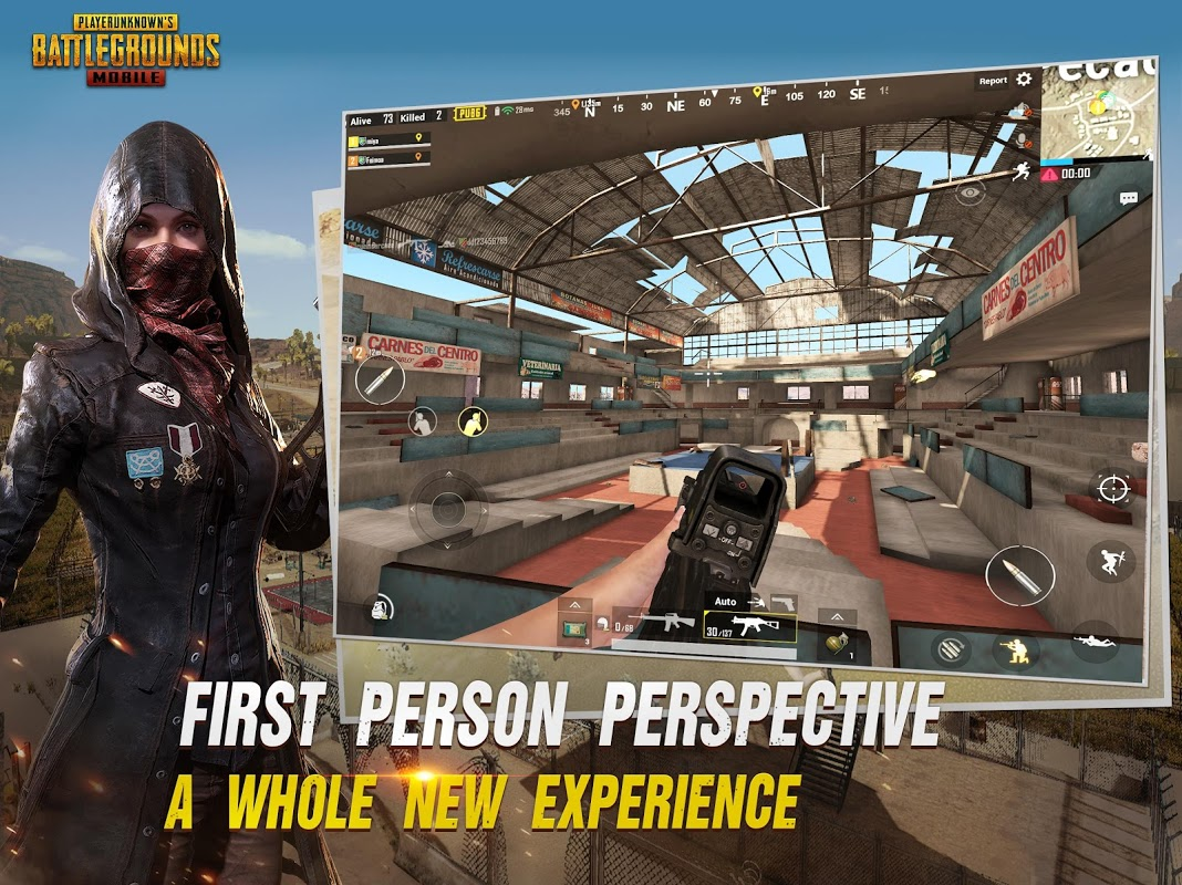 Android PUBG MOBILE Screen 3