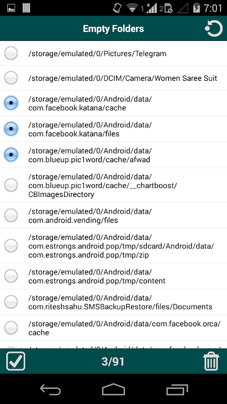 Android Folder Cleaner Screen 6