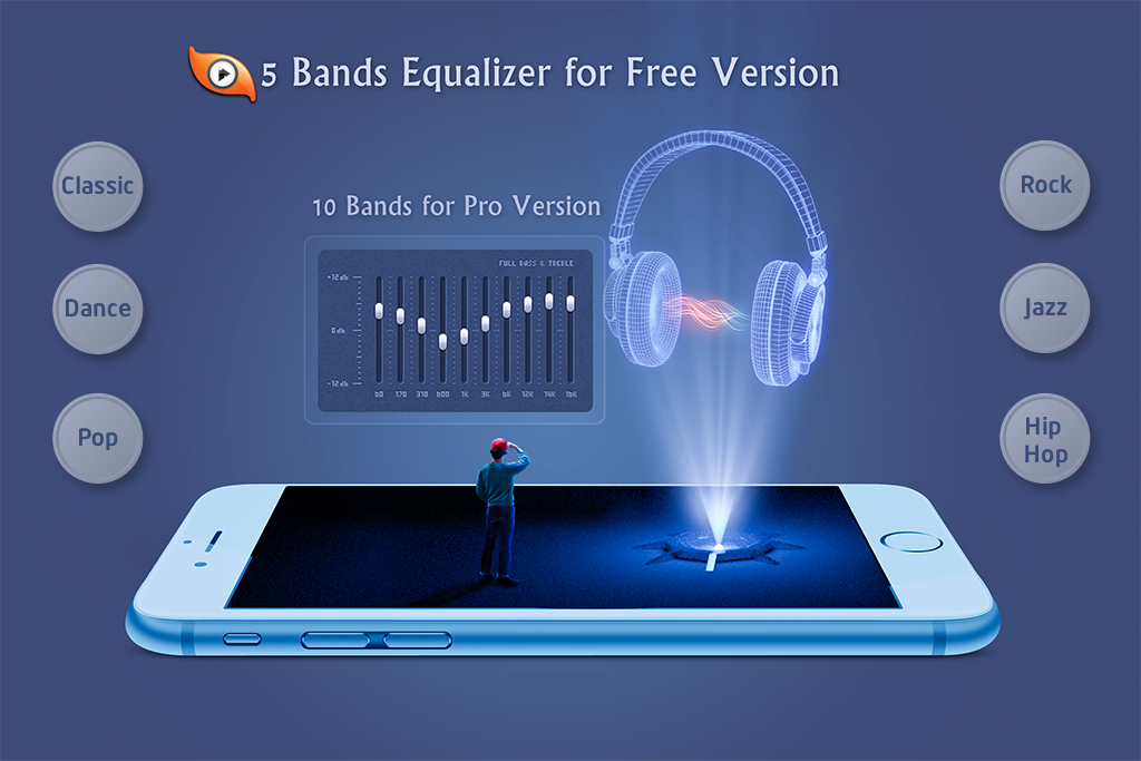 Android S Music Player 3D Screen 1