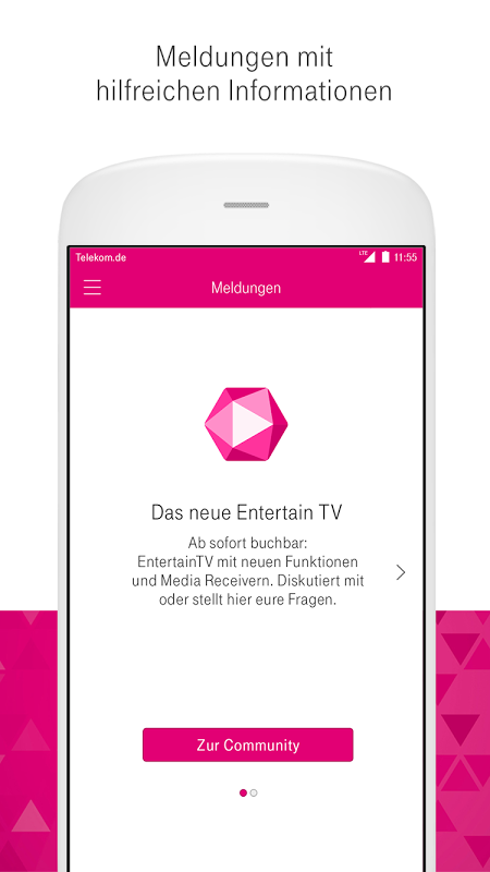 Android MagentaSERVICE Screen 3