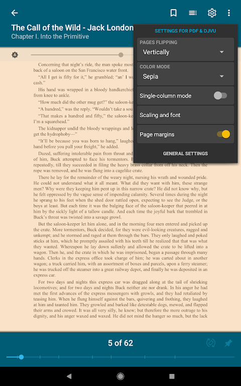 ReadEra - epub, pdf, docx ebook reader 19.01.10+730 Screen 22