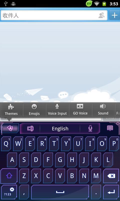 GO Keyboard - Emoji, Emoticons 2.20 Screen 4