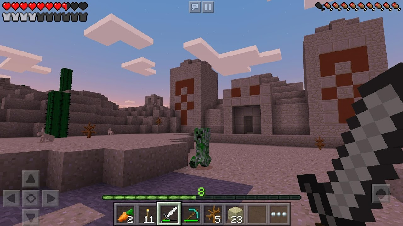 Android Minecraft: Pocket Edition Screen 7