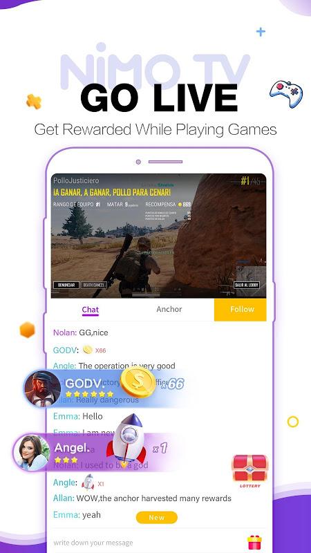 Nimo TV – Play. Live. Share. 1.5.11 Screen 6