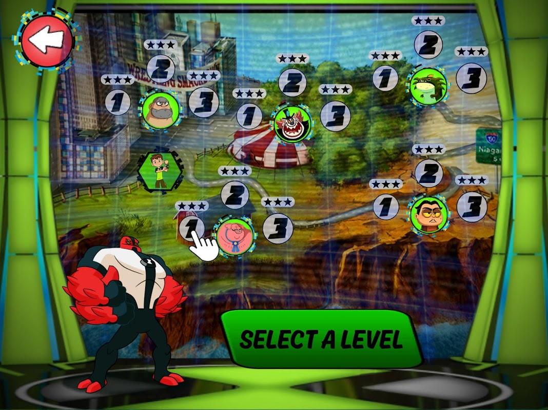 Android Ben 10 Challenge Screen 2