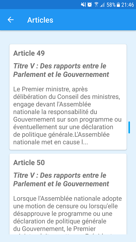 French Constitution 1.0 Screen 3