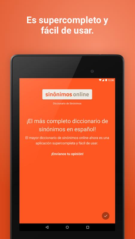Diccionario Sinónimos Offline 2.7.0 Screen 17