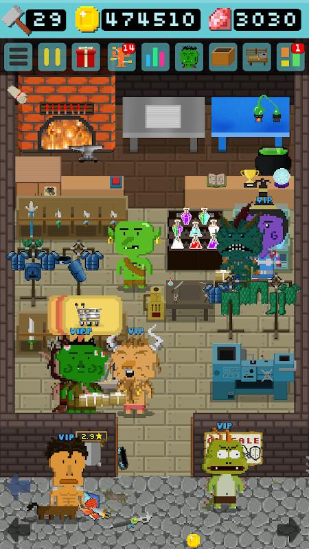Android Goblin's Shop Screen 1