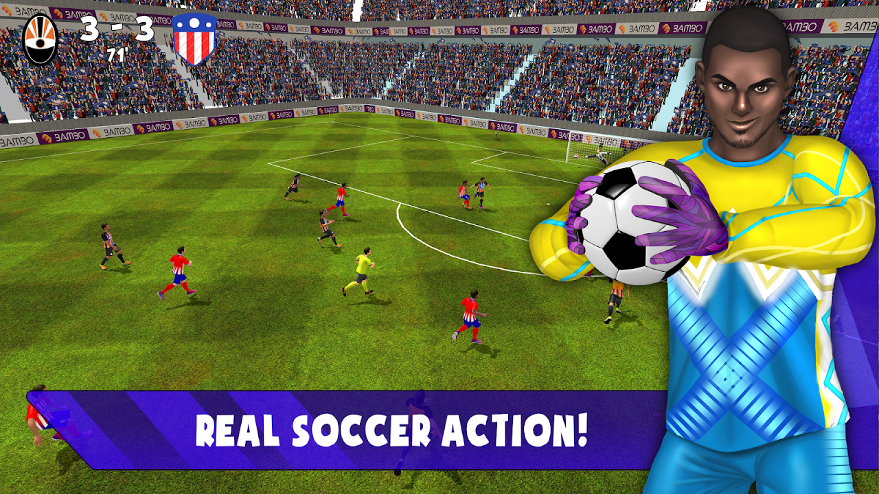 Android Save! Hero - Goalkeeper Football Game 2019 Screen 4