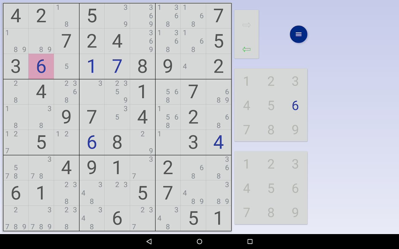 Sudoku: 3 in 1 1.7.3 Screen 12