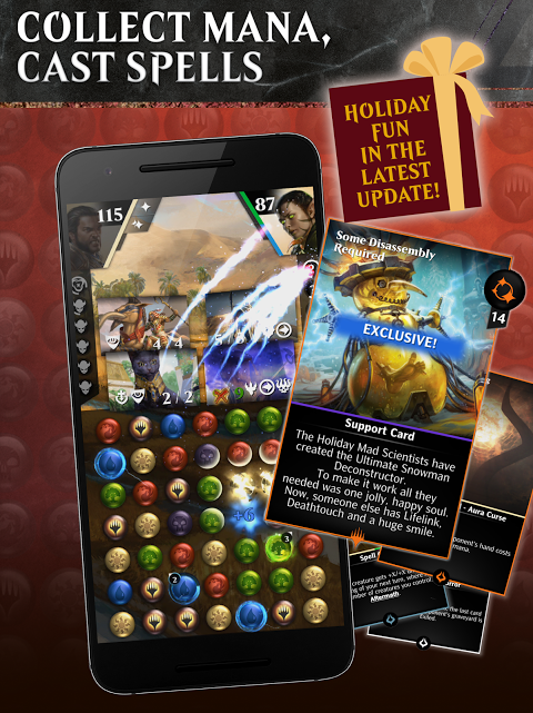 Android Magic: The Gathering - Puzzle Quest Screen 6