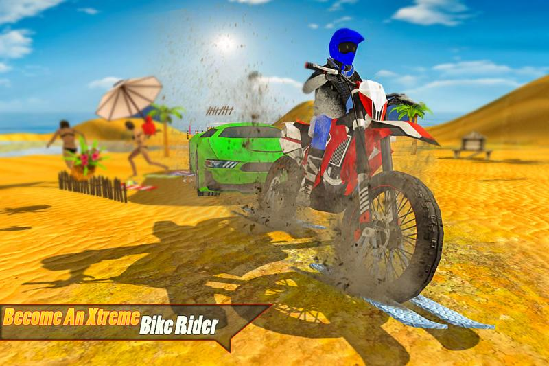 Android Water Surfing Bike Racing Screen 2