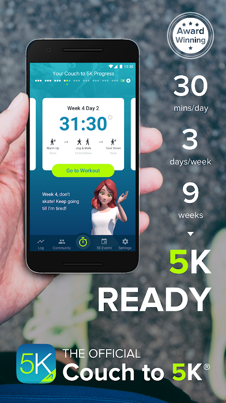 Couch to 5K® 4.3.0.73 Screen 5