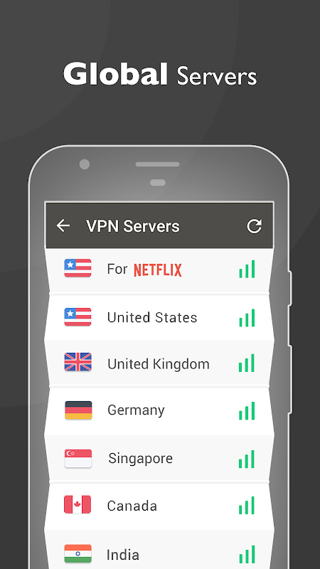 Free unblock VPN& security VPN by VPN Proxy Master 1.4.6 Screen 4