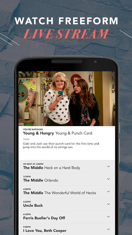 Android Freeform – TV & Full Episodes Screen 7
