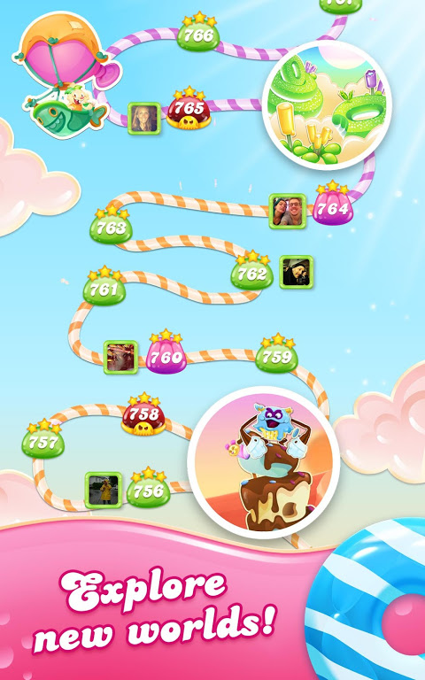 Android Candy Crush Jelly Saga Screen 13