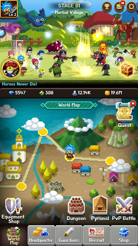 Android Videogame Guardians Screen 5
