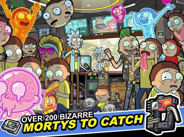 Android Pocket Mortys Screen 8