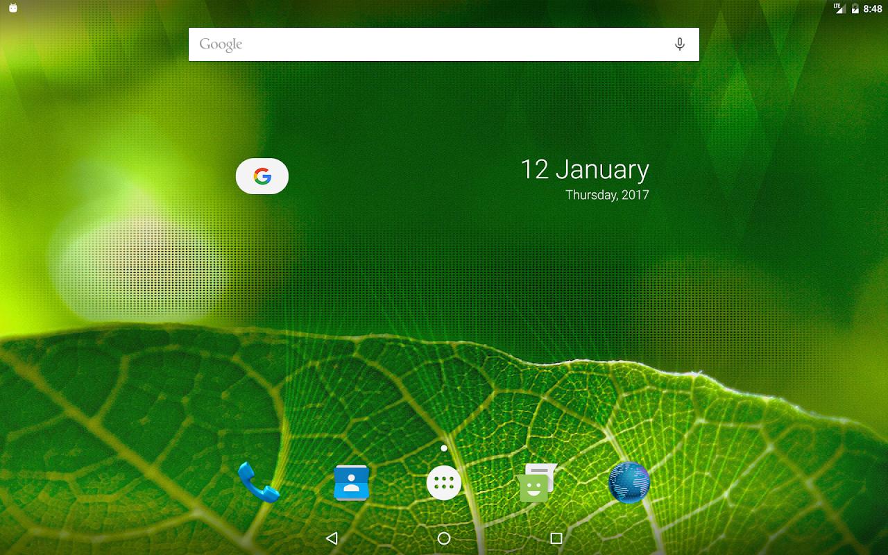 Android Vizorg Widget - Configure search bar Screen 7