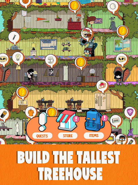 Loud House: Ultimate Treehouse 1.5.1 Screen 5