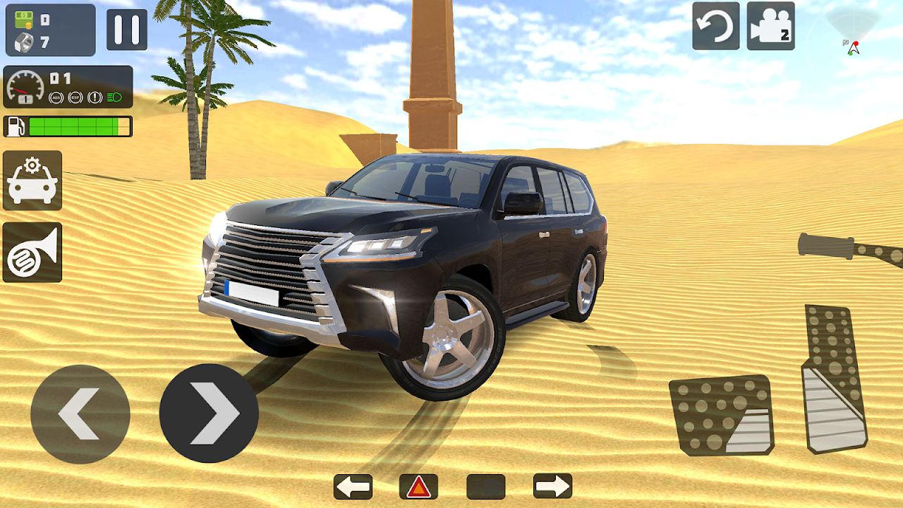 Android Offroad LX 570 Screen 3