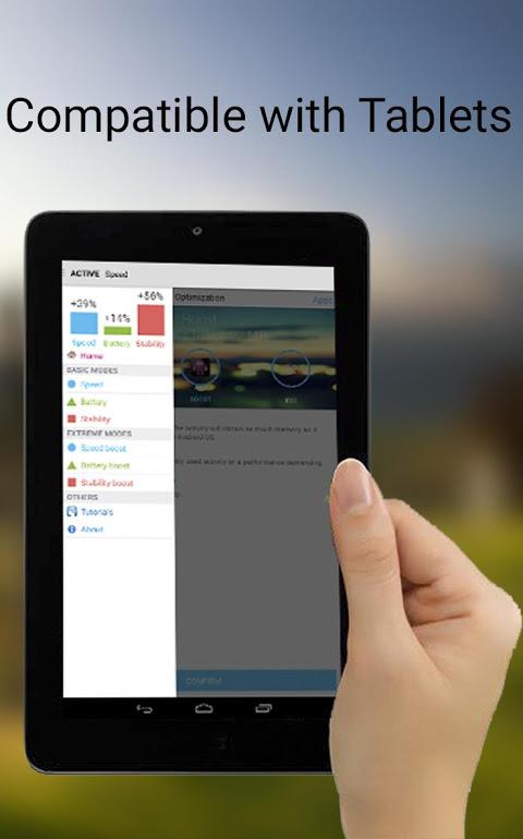 Android Octa-Core Processor Booster Screen 5